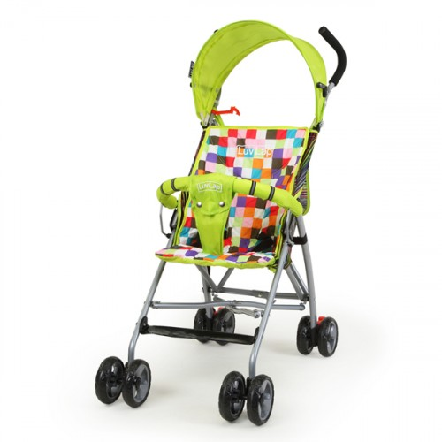 Luvlap Sunshine Baby Buggy – Green