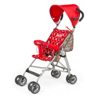 Luvlap Sunshine Baby Buggy – Red
