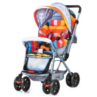 Luvlap Sunshine Baby Stroller – Colored Stripes