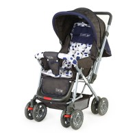 Luvlap Sunshine Baby Stroller – Navy Blue