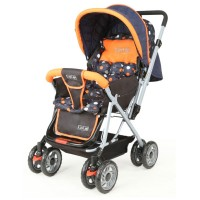 Luvlap Sunshine Baby Stroller – Orange/Black