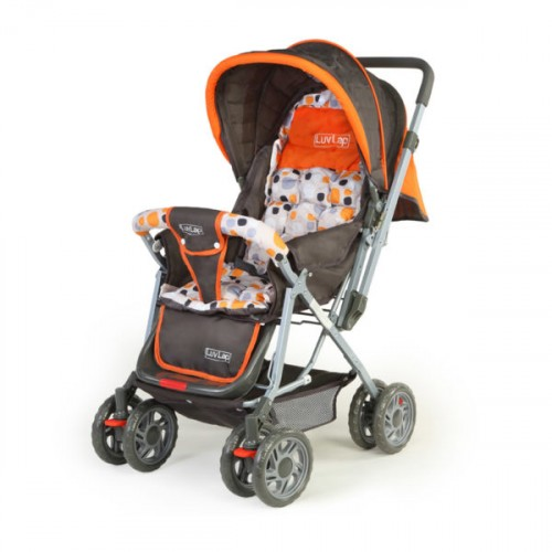 Luvlap Sunshine Baby Stroller – Orange