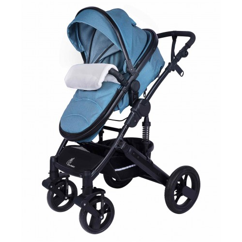 R for Rabbit Hokey Pokey Lite Baby Stroller And Pram (Blue)
