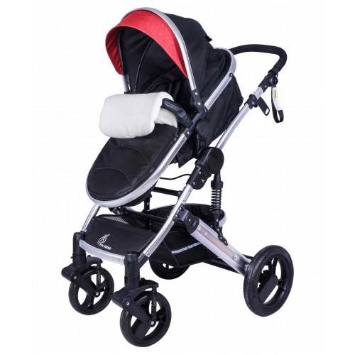 R for Rabbit Hokey Pokey Lite Baby Stroller And Pram (RED)