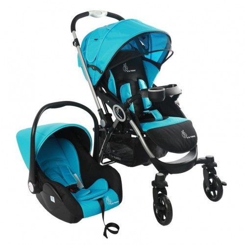 R for Rabbit Chocolate Ride Travel System (Blue Black)
