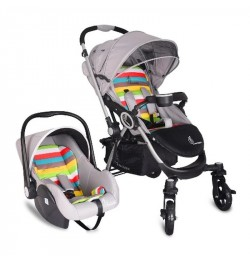 R for Rabbit Chocolate Ride Travel System (Rainbow)