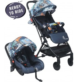R for Rabbit Pocket Travel System - The Most Portable Travel System Stroller with Car Seat