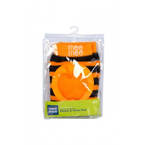 Mee Mee Premium Elbow & Knee Pads (Orange)