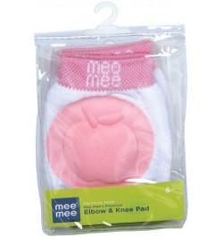 Mee Mee Premium Elbow & Knee Pads (Pink)
