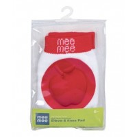 Mee Mee Premium Elbow & Knee Pads (Red)