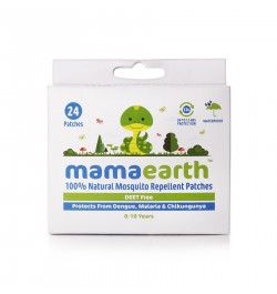 Buy Mamaearth Natural Repellent Mosquito Patches for Babies, 24 pcs (Pack of 2) Online in India