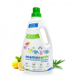 Buy Mamaearth Plant Based Laundry Detergent, 1000ml (Saver Pack, get 40% extra) Online in India