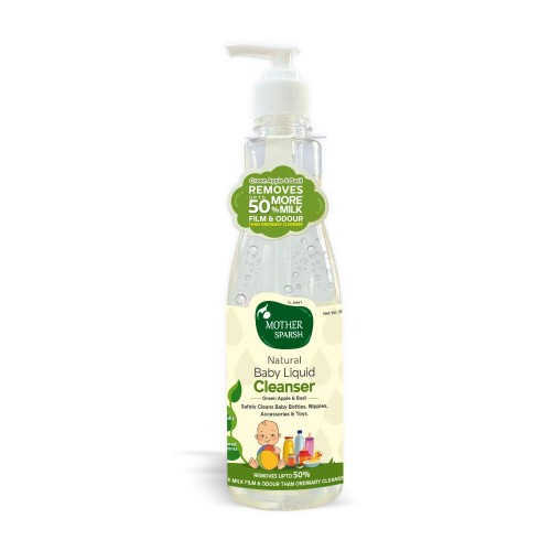 Mother Sparsh Natural Baby Liquid Cleanser, 500ml