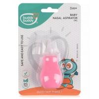 Buddsbuddy Baby Nasal Aspirator, Pink