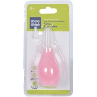Mee Mee Soft Nozzle Nasal Aspirator (Pink)
