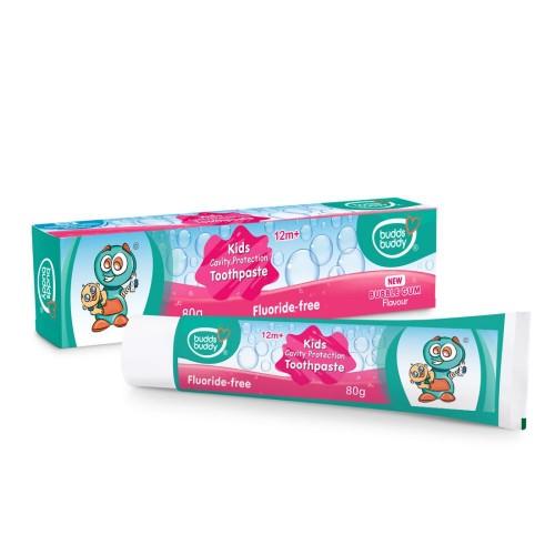 Buddsbuddy Kids Cavity Protection Toothpaste Bubblegum,1Pc, 80 gms