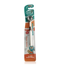 Buy Buddsbuddy Kids Leo Tongue Cleaner 1Pc, Black Online in India