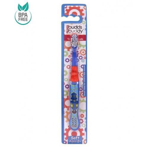 Buddsbuddy Kids Toothbrush (Blue)