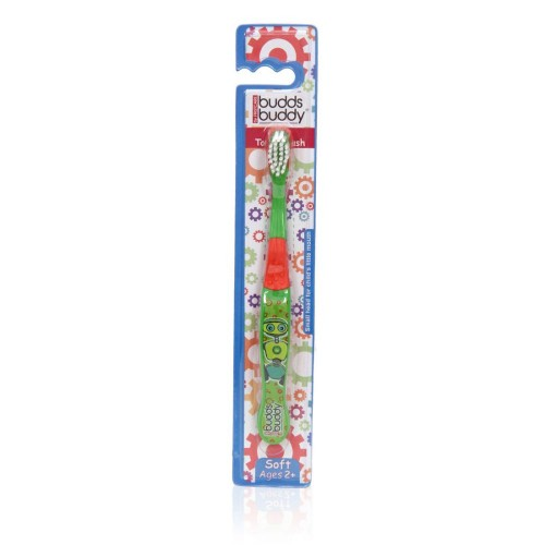 Buddsbuddy Kids Toothbrush (Green)
