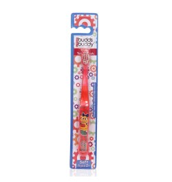 Buy Buddsbuddy Kids Toothbrush (Red) Online in India