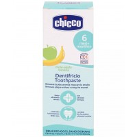 Chicco Fluoride Free Toothpaste-Apple - Banana Flavour (50 ml)