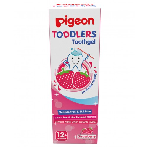 Pigeon Toddlers Toothgel Strawberry