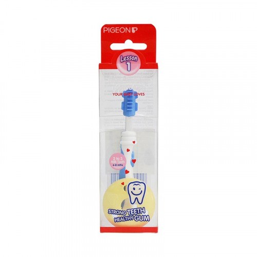 Pigeon Training Toothbrush L-1 (Light Blue)