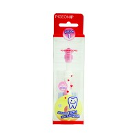 Pigeon Training Toothbrush L-1 (Light Pink)