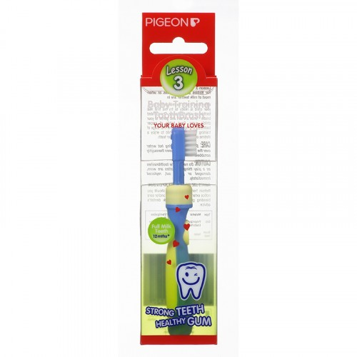 Pigeon Training Toothbrush L-3 (Blue)