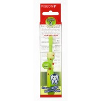 Pigeon Training Toothbrush L-3 (Lime Green)