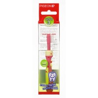 Pigeon Training Toothbrush L-3 (Pink)