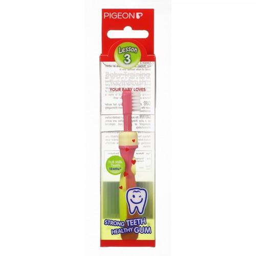 Pigeon Training Toothbrush L-3 (Pink)
