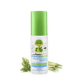 Buy Mamaearth Natural Mosquito Repellent Spray, 100ml Online in India
