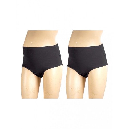 Mee Mee Soft Maternity Support Panty, Black (Size - XXL) (Pack of 2)