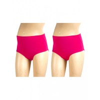 Mee Mee Soft Maternity Support Panty, Dark Pink (Size - XXL) (Pack of 2)