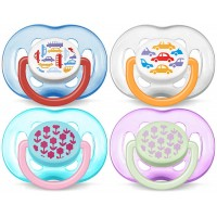 Philips Avent Freeflow Pacifiers 6-18m (multicolor)