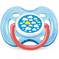 Philips Avent Freeflow Pacifiers (Boy) 0-6m
