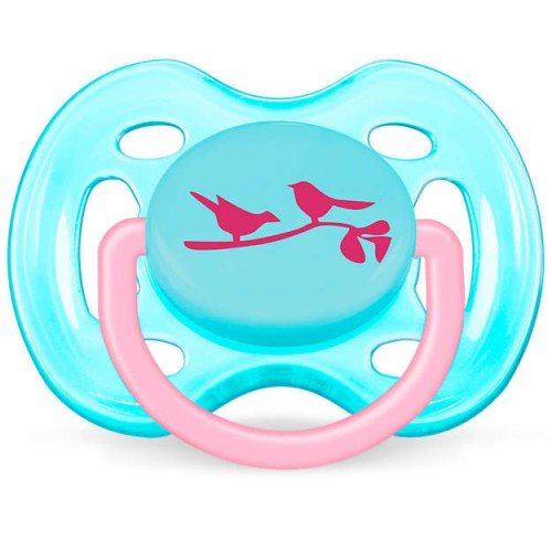 Philips Avent Freeflow Pacifiers (Girl) 0-6m