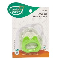 Buddsbuddy	Cooling Teether for Babies, Green
