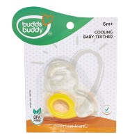 Buddsbuddy	Cooling Teether, Yellow