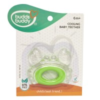 Buddsbuddy	Crab Shaped Cooling Baby Teether, Green