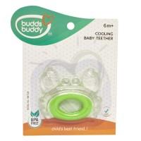 BuddsbuddyCrab Shaped Cooling Baby Teether, Green