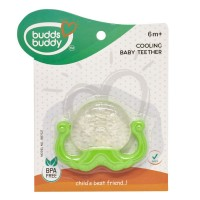 Buddsbuddy	Octopus Shaped Cooling Baby Teether, Green