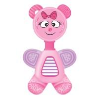 Buddsbuddy Premium Baby Flexi Teether, Pink