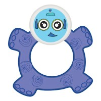 Buddsbuddy Premium Baby Teether, Blue, (Age: 3m+)
