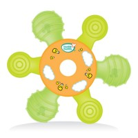 Buddsbuddy Premium Multipurpose Teether, Green,(Age: 3m+) BB7042