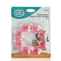 Buddsbuddy Premium Ring Water Filled Teether 1Pc Pink