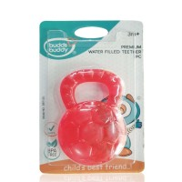 Buddsbuddy Premium Water Filled Teether 1Pc, Red