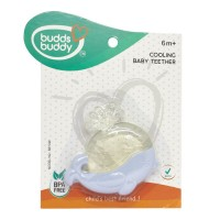 Buddsbuddy	Whale Shaped Cooling Baby Teether, Blue