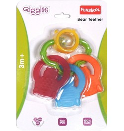 Giggles Bear Teether Rattle